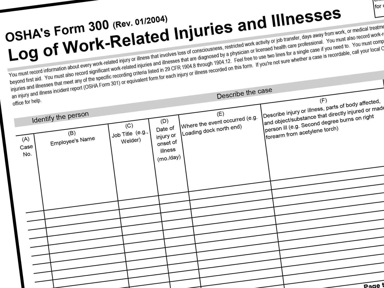 OSHA Safety Compliance Recordkeeping- What You Need To Know