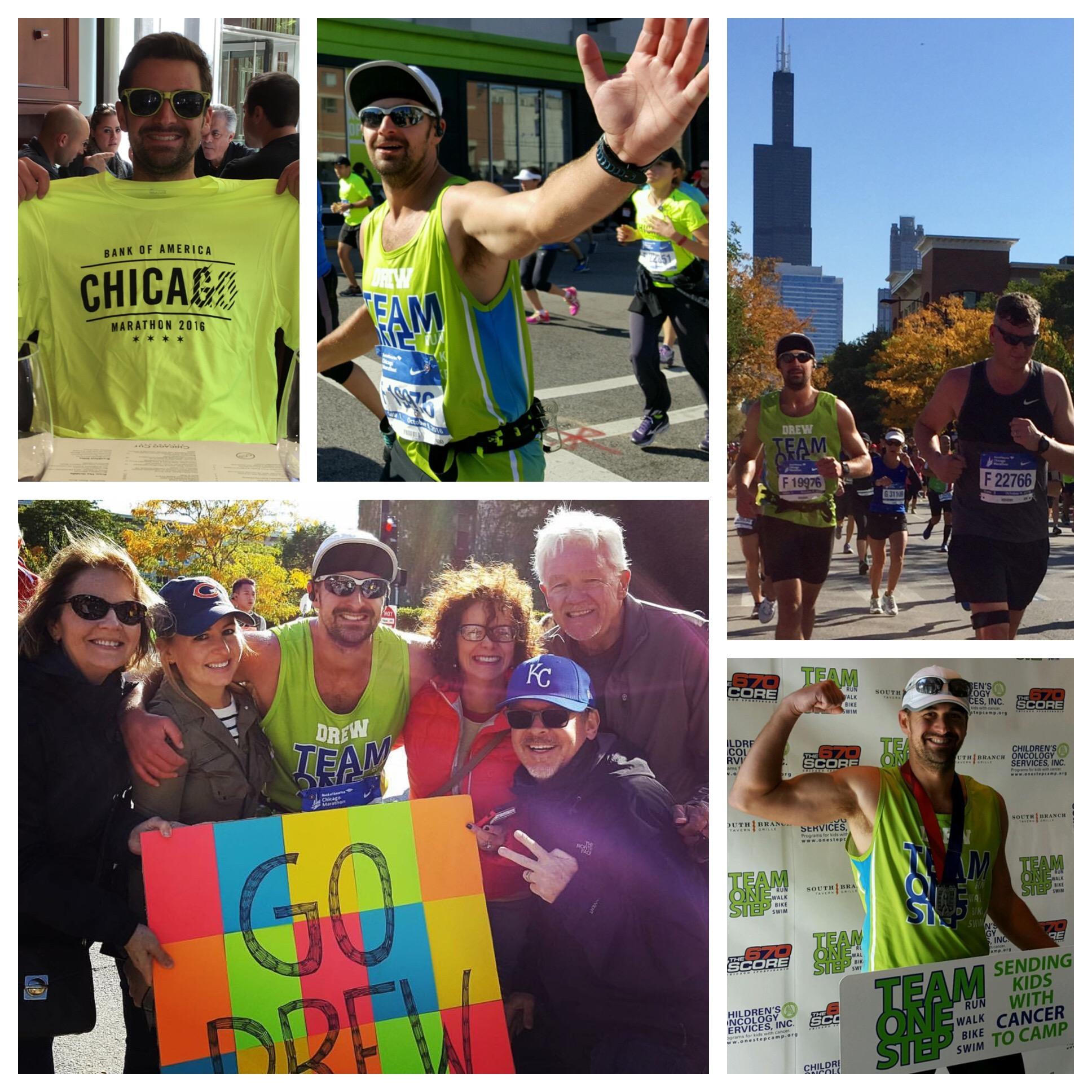 OSM Director of Operations Runs Chicago Marathon for Kids With Cancer