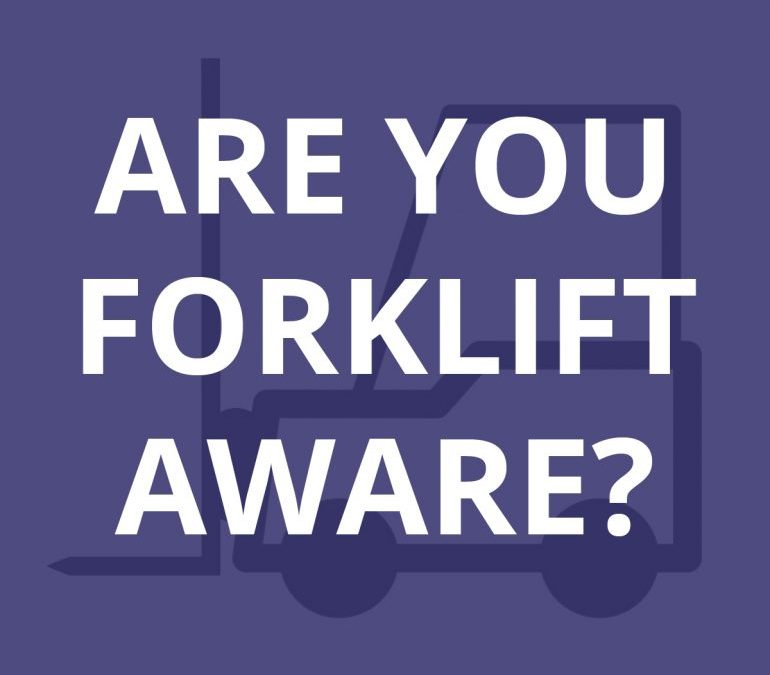 Focus of the Month: Forklifts (INFOGRAPHIC)